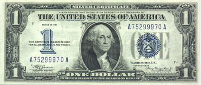 United States Silver Certificate